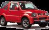 Rent Suzuki Jimny (old classic model)